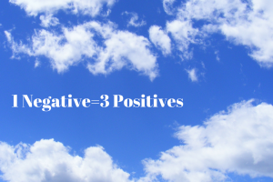 1 Negative=3 Positives