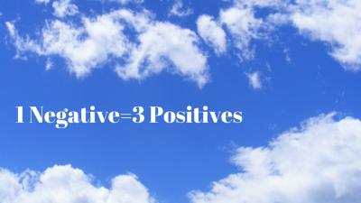 1 Negative=3 Positives
