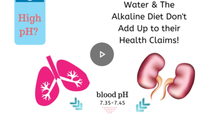 Alkaline water and health claims
